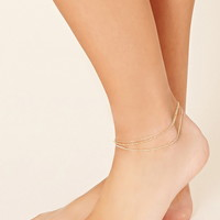 Layered Chain Anklet | Forever 21 - 1000177394