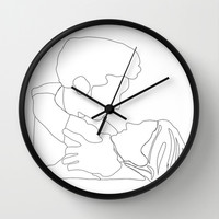 Grey's Anatomy // Meredith and Derek Wall Clock by Bethany Mallick