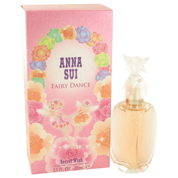 Secret Wish Fairy Dance by Anna Sui Eau De Toilette Spray 2.5 oz