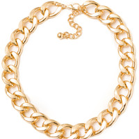Molly Chain Necklace - Gold