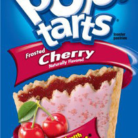 Kellogg's Frosted Cherry Pop-Tarts 3.6 oz Portions - Pack of 24