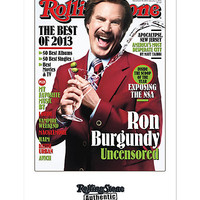 Ron Burgundy Rolling Stone Cover Poster