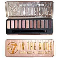"""W7 - """"In The Nude"""" Natural Nudes - Eye Colour Palette 12 in 1 Eyeshadow Palette"""