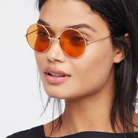 Free People Oracle Aviator Sunnies