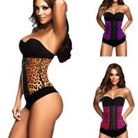 sport latex waist cincher trainer hot shaper fast weight loss girdle slimming belt waist training corset underbust = 1930271748
