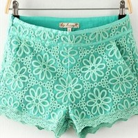 Embroidered lace shorts from Moonlightgirl