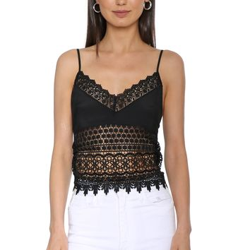 Robertson & Rodeo Eyes On You Lace Cami
