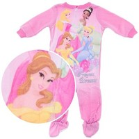 Disney Princess Dreams Footed Pajamas for Infant and Toddler Girls