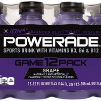 POWERADE Grape, 12 ct, 12 FL OZ Bottle