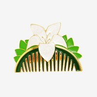 Disney Mulan Hair Comb Barrette