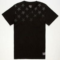 Famous Stars & Straps Lights Out Mens Pocket Tee Black  In Sizes