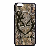 Love Browning Deer Camo Real Tree Just Love It iPhone 6 Case