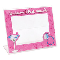 Bachelorette Party Memories Photo Frame