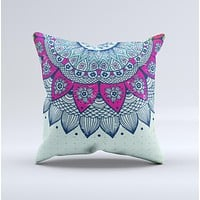 The Vintage Mandala ink-Fuzed Decorative Throw Pillow