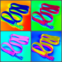 """Dog Leash Solid Color 1"""" Wide - Your choice of Color and Length"""