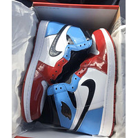 "Nike Air Jordan 1 High OG ""Fearless"" High-Top Sports Basketball Shoes"