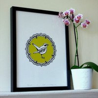 Nightingale Print   Folly Home   Design-led Gifts, Home wares, Vintage Finds