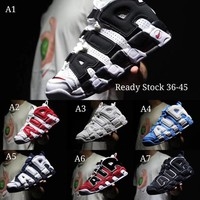 READY STOCK2018 Nike Air More uptempo Olympic 7color in stock 36-45