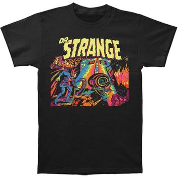 Doctor Strange Men's  Dr. Strange Slim Fit T-shirt Black
