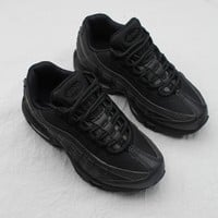 Nike Air Max 95 Child Shoes Black Gold Toddler Kid Shoes - Best Deal Online