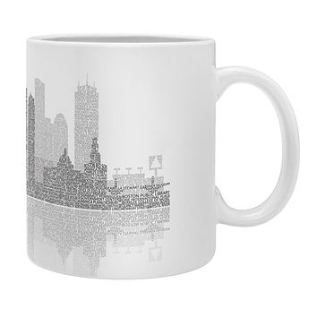 Restudio Designs Boston Skyline Reflection Coffee Mug