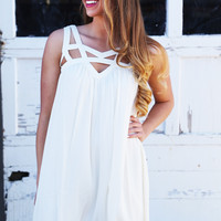 Made For You Dress {Ivory}