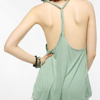 Ecote Twist Back Tank Top