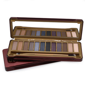 Glitter Eyeshadow Palette 12 color style