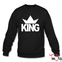 KING CROWN 1 sweatshirt