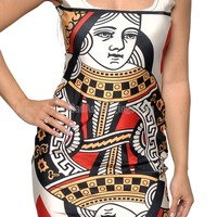 Queen of Hearts Sleeveless Mini Dress Design 3057
