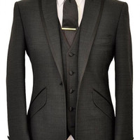Terno Para Casamento 2016 Costom Made Handsome Mens Slim Suits Tuxedos Grooms Suit Men's Wedding Suits Business Suits