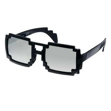 ASOS Sunglasses with Pixel Effect Frame and Mirror Lens