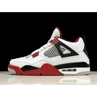 Air Jordan 4 Fire Red 308497-160