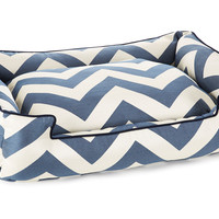 Spellbound Lounge Bed, Blue/White, Pet Beds