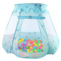 Large Children Kids Play Tents Girls Boys Ocean Ball Pit Pool Toy Tent Girls Princess Castle Indoor Outdoor House Ball Pool Tent