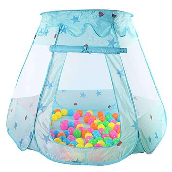 Large Children Kids Play Tents Girls Boys Ocean Ball Pit Pool Toy Tent Girls Princess Castle Indoor Outdoor House