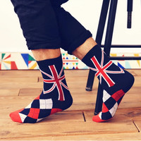UK National Flag-inspired Socks for Men