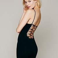 Intimately Womens Strappy Back Seamless Romper