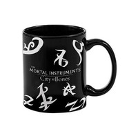 Underground Toys The Mortal Instruments City of Bones Ceramic Heat Reveal Runes Mug