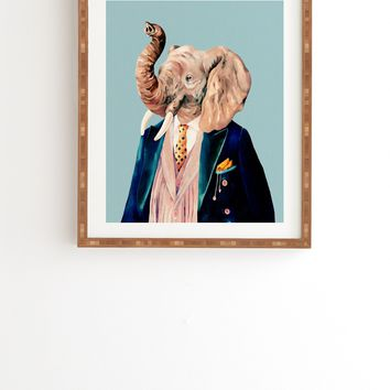 Animal Crew Mr Elephant Framed Wall Art