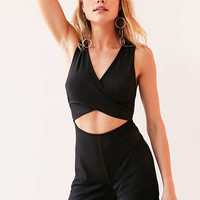 Silence + Noise Cutout Cross-Front Romper - Urban Outfitters
