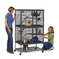 Midwest Critter Nation Double Unit Small Animal Habitat