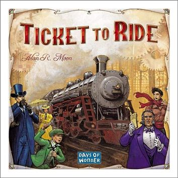 Ticket to Ride Board Game Cross-Country Train Adventure Days of Wonder CHOP GAME