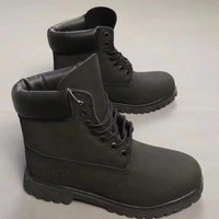 Timberland Fashion Winter Waterproof Boots Martin Leather Boots Shoes-8
