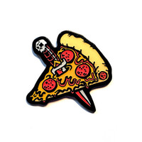 Pizza Knife Pin