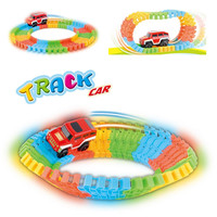 56pcs set Simulation of Electric Thomas Track Toy Train Baby's Car Model Baby Toy Toy track car Rail train model cars gifts D003