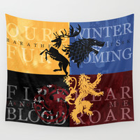 Game of Thrones Wall Tapestry by Rose's Creation