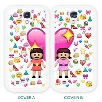 case,cover for samsung models>BFF emoji,emojis,best friend>friends>smiley>girls,