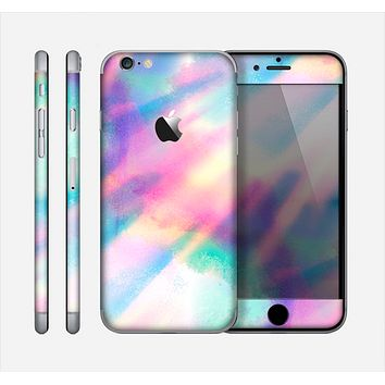 The Tie Dyed Bright Texture Skin for the Apple iPhone 6