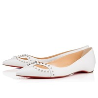 Christian Louboutin Fashion Rivets Pointed Flats Shoes